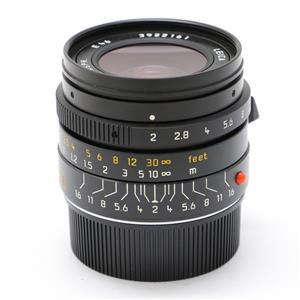 ズミクロン M28mm F2.0 ASPH ブラック