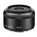 Nikon (ニコン) 1 NIKKOR 18.5mm F1.8 ブラック