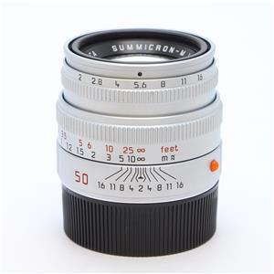 ズミクロン M50mm F2 レンズフード組込 シルバー