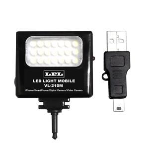 LEDライトモバイルVL-210M ブラック