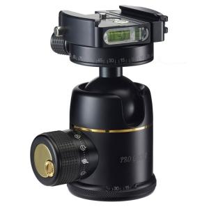 38mm プレミアム ボールヘッド雲台 Pro Gold II Easy PQR ブラック