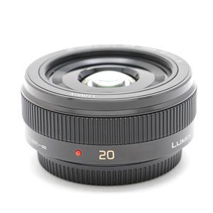 LUMIX G 20mm F1.7 II ASPH. ブラック