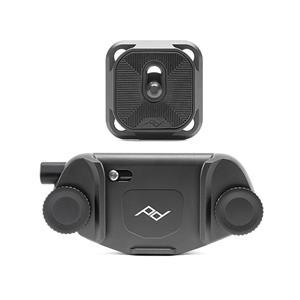 peak design (ピークデザイン) キャプチャーカメラクリップ V3 スタンダードプレート付き ブラック メイン