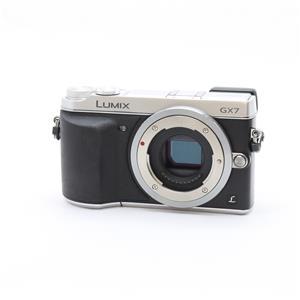 LUMIX DMC-GX7 ボディ シルバー
