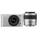 Nikon (ニコン) Nikon 1 J2 ダブルズームキット シルバー