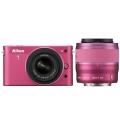 Nikon (ニコン) Nikon 1 J2 ダブルズームキット ピンク