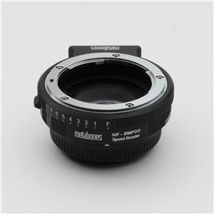 マウントアダプター ニコンF(G)レンズ/Blackmagic Pocket Cinema Camera用 SPEED BOOSTER