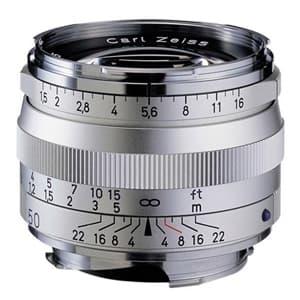 C Sonnar T* 50mm F1.5 ZM(ライカM用) シルバー