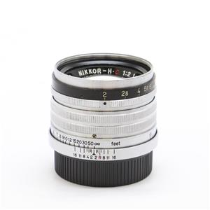 NIKKOR-H.C (L) 50mm F2 (固定鏡胴)