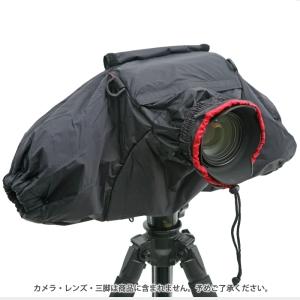 カメラレインカバー ブラック