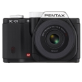 PENTAX (ペンタックス) K-01 レンズキット ブラック/ブラック