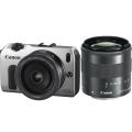 Canon (キヤノン) EOS M ダブルレンズキット シルバー