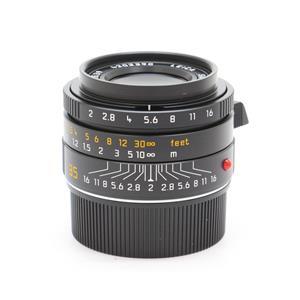 ズミクロン M35mm F2 ASPH (6bit) (フードはめ込み式)[00210] ブラック