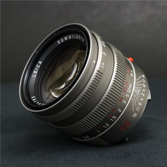 ズミルックス M50mm F1.4 フード組込
