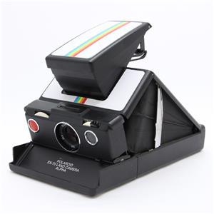 Polaroid SX-70 アルファー ホワイトレインボー