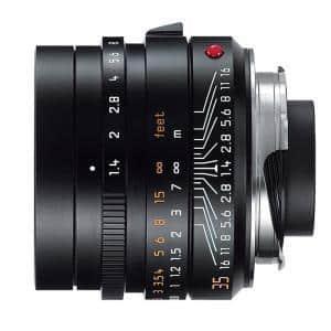 Leica (ライカ) ズミルックス M35mm F1.4 ASPH. ブラック メイン