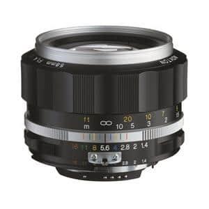 NOKTON 58mm F1.4 SL II S(ニコンF用) シルバーリム