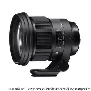 SIGMA (シグマ) Art 105mm F1.4 DG HSM(ソニーE用/フルサイズ対応) メイン
