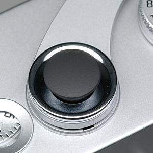 オリジナルMボタン ブラッククローム(梨地)