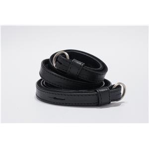 Leica (ライカ) レザーストラップ ブラック(オーストリッチ風) メイン