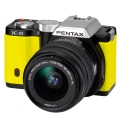 PENTAX (ペンタックス) K-01 ズームレンズキット ブラック/イエロー