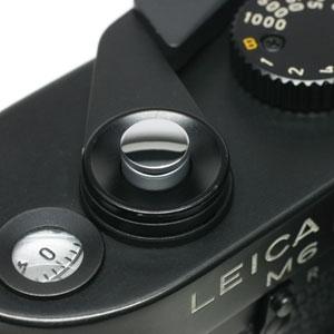 ソフトレリーズボタン 「kleine -クライネ-」 鏡面シルバー(無地)
