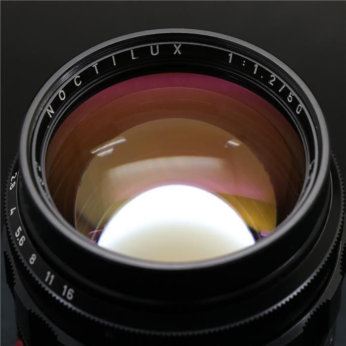 ノクティルックス M50mm F1.2 (非球面)+12503 フード+UVaフィルター