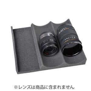 波形レンズホルダー ミニドライシリーズ用/2連+スペース OP-AD-LH(SS)2α