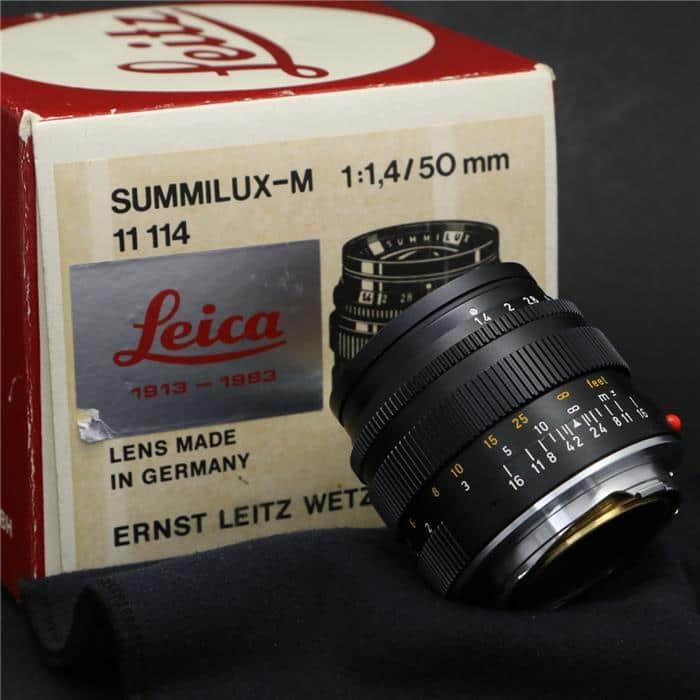 ズミルックス M50mm F1.4 70周年記念 ブラック+フード12586