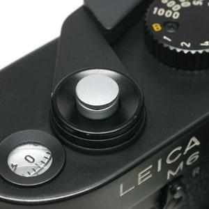 ソフトレリーズボタン 「kleine -クライネ-」 シルバークローム(無地)