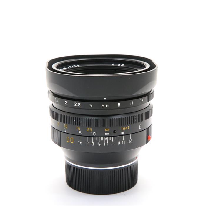 ノクティルックス M50mm F1.0 レンズフード組込
