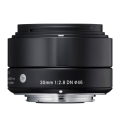 SIGMA (シグマ) Art 30mm F2.8 DN (マイクロフォーサーズ用) ブラック