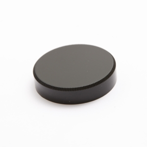 Leica Lマウントキャップ ブラックペイント