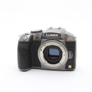 LUMIX DMC-G6 ボディ シルバー