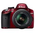 Nikon (ニコン) D3200 レンズキット レッド