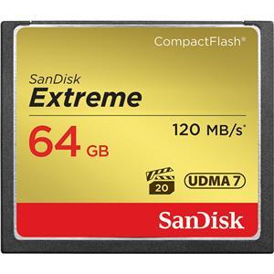 SanDisk (サンディスク) Extreme CFカード 64GB SDCFXSB-064G-G46 海外パッケージ版 メイン