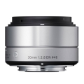 SIGMA (シグマ) A 30mm F2.8 DN (マイクロフォーサーズ用) シルバー