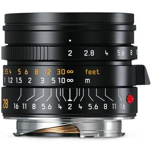 Leica (ライカ) ズミクロン M28mm F2.0 ASPH. ブラック メイン