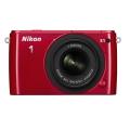 Nikon (ニコン) Nikon 1 S1 標準ズームレンズキット レッド