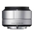 SIGMA (シグマ) A 30mm F2.8 DN (ソニーE用) シルバー