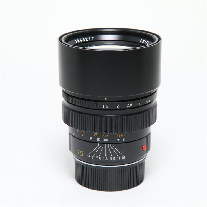 ズミルックス M75mm F1.4 レンズフード組込