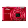 Nikon (ニコン) COOLPIX S6500 グロッシーレッド