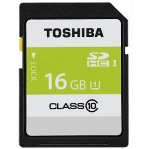 TOSHIBA (トウシバ) SDHCカード UHS-1 16GB Class10 SDAR40N16G メイン