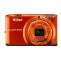 Nikon (ニコン) COOLPIX S6500 マンダリンオレンジ