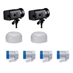 MONOSTAR C4 2灯 + 予備ハロゲンランプセット