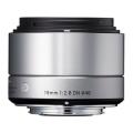 SIGMA (シグマ) Art 19mm F2.8 DN (マイクロフォーサーズ用) シルバー