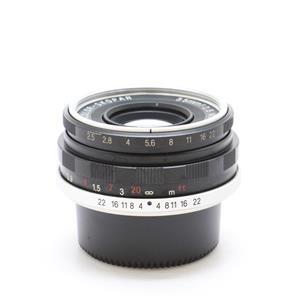 COLOR SKOPAR 35mm F2.5 Pタイプ ブラック