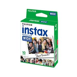 インスタントカラーフィルム instax WIDE 1パック(10枚入り)