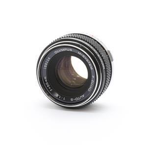 OM 50mm F1.8 ※アルファベットD~H.ZUIKO表記