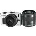 Canon (キヤノン) EOS M ダブルレンズキット ホワイト